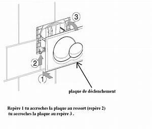 Reglage Chasse D Eau Geberit : wc suspendu geberit installation bizarre de la plaque ~ Dailycaller-alerts.com Idées de Décoration