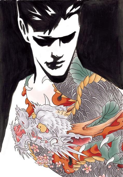 yakuza art wallpapers top  yakuza art backgrounds