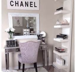 Girly Office Desk Accessories by Coco Chanel Room