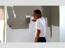 Hoe schilder je een pleisteren muur ? YouTube