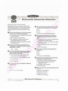 268416692 Divemaster Final Exam Questions