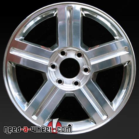 chevy trailblazer oem wheel    polished stock