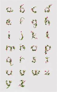 beautiful alphabets art is a way With flower letters alphabet