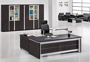 Simple Maple Modern Executive Desk Office Table Design ...