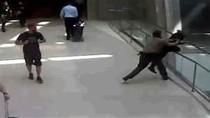 Security Officer Hailed A Hero For Thwarting Man U0026 39 S Apparent Suicide Attempt Video