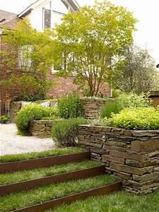 Garten Hang Gestalten : bepflanzung terrasse hang nowaday garden ~ Markanthonyermac.com Haus und Dekorationen