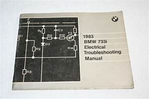 Bmw 1983 733i Electrical Troubleshooting Manual