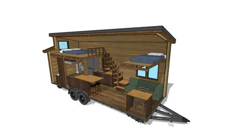 small home designs floor plans the cider box modern tiny house plans for your home on wheels