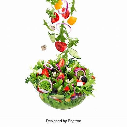 Salad Vegetable Clipart Ensalada Lettuce Pngtree Western