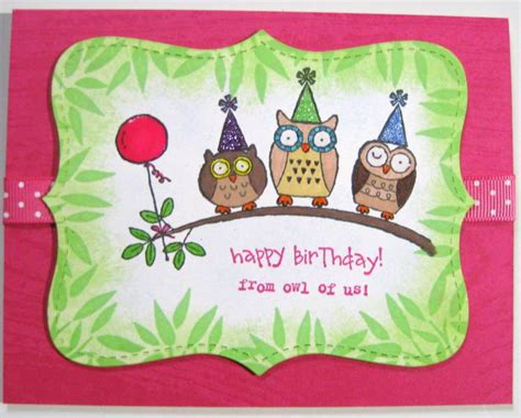 Happy Birthday Owl Images Dw Happy Birthday Owls By Deb Loves Sting At