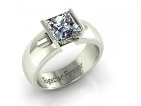 thick band engagement rings radiant halo plain band engagement ring dallas shapiro diamonds