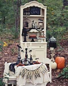 Vintage Halloween Party Decorations Ideas