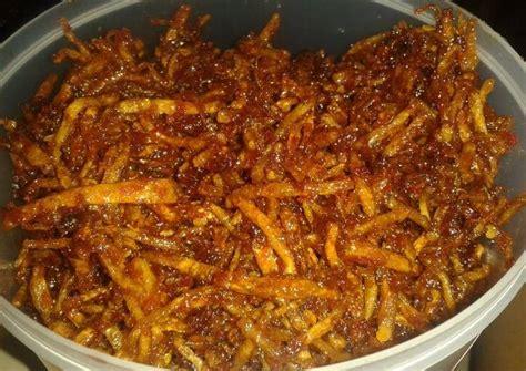 resep kering kentang balado garing pedas manis oleh yuni