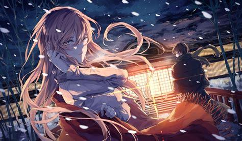Anime Snow Wallpaper - original characters anime anime snow wallpapers