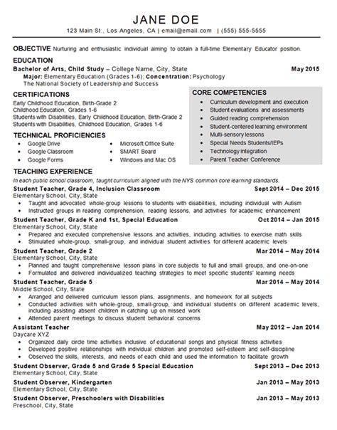 Child Care Resume Skills by Child Care Resume Exles Teaching Resume