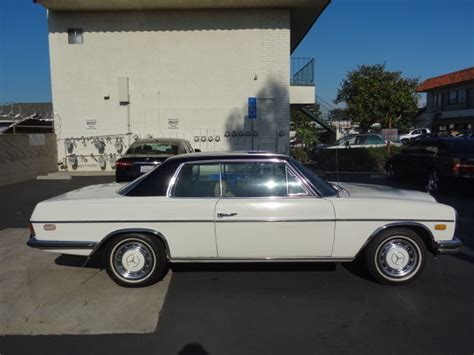Manufactured for almost a decade, until 1976, and devoid of black boxes and. 1972 Mercedes-Benz 250C W114 2-Door Coupe Classic Vintage Car Needs Minor Work