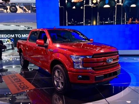 2018 ford f 150 redline first 2017 naias youtube