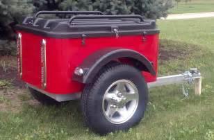 Small Cargo Utility Trailer