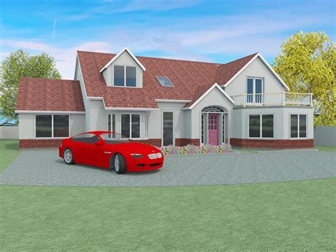 Executive house plans: The Garway 5 bedroom detached home