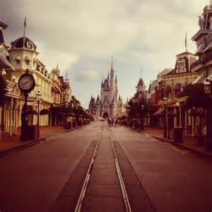 Main Street USA Disney World