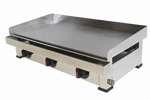 Plancha Haut De Gamme : plancha gaz acier doux 15 mm haute performance ~ Premium-room.com Idées de Décoration