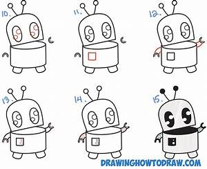 Cool Easy Robot Drawing | www.pixshark.com - Images ...