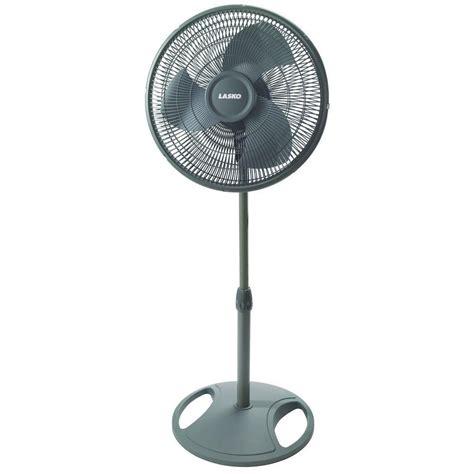 lasko oscillating floor fan lasko oscillating pedestal fan adjustable height 16 in 3