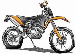 17 Best Images About Dirt Bikes Cartoon Art On Pinterest