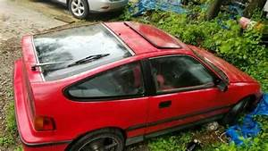1989 Honda Civic Crx 2 Dr Si Hatchback For Sale