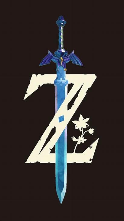 Zelda Iphone Legend Wallpapers Breath Wild Wallpaperaccess