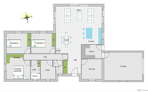 modele maison plain pied 4 chambres modele maison plain pied 5 chambres immobilier pour tous immobilier pour tous
