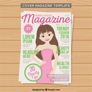 cover fashion magazine template vector free download With free magazine cover templates downloads