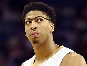 Anthony Davis' Unibrow Now Wrapping Completely Around Head ...