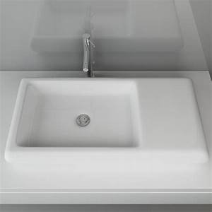 Waschbecken Auf Tisch : keramik waschbecken tisch aufsatzbecken design waschschale waschplatz xxl a72 ebay ~ Sanjose-hotels-ca.com Haus und Dekorationen