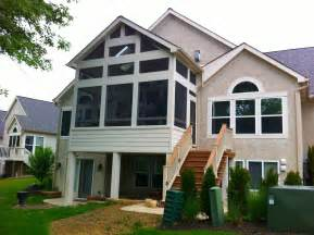 Connecting Screen Porch Expert Important Build Porch Roof Designs