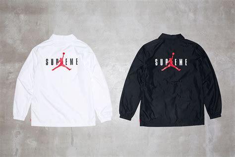 supreme  jordan jackets