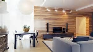 tapeten wohnzimmer beispiele tapete in holzoptik 24 effektvolle wandgestaltungsideen