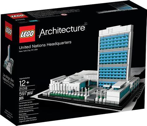le siege des nations unis lego architecture 21018 pas cher le siège des nations