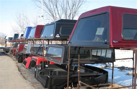 USED TRUCK CAPS - FREIERS TRUCK CAP CENTER OF WISCONSIN LLC