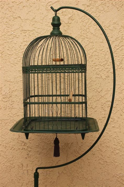 antique bird cage stand antique victorian hendryx bird cage birdcage w stand painted 66 1 2 quot
