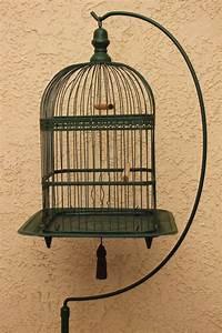 Antique Victorian Hendryx Bird Cage Birdcage W/ Stand ...