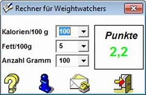 Weight Watchers Punkte Sport Berechnen : weightwatchers rechner download chip ~ Themetempest.com Abrechnung