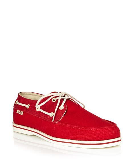 Vans Boat Shoes For Sale by Vans S Foghorn Lace Up Boat Shoes Designer