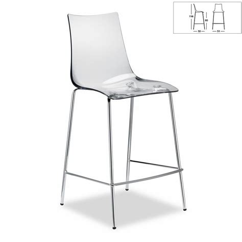 chaise bar design chaise de bar transparente ziloo fr