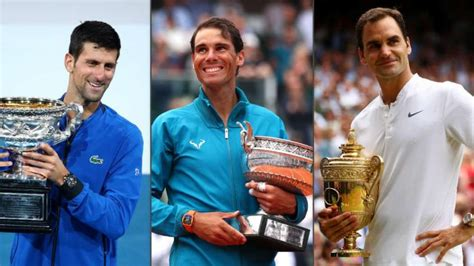 Roger Federer, Novak Djokovic and Rafael Nadal: who is the ...