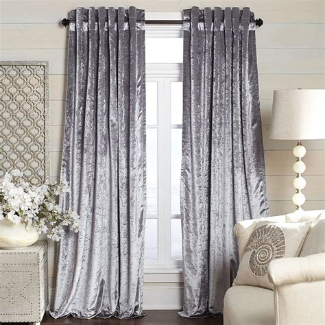 best 25 silver curtains ideas on black and