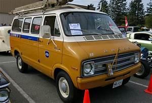 1977 Dodge B200 Tradesman Van  B C  Telephone Co