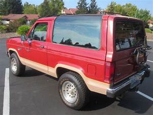 87 1987 Ford Bronco II Eddie Bauer 4X4 5 Speed Manual V6 California Truck - Classic Ford Bronco ...