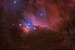 Horsehead Nebula - Through My Telescope by Sasse Photo