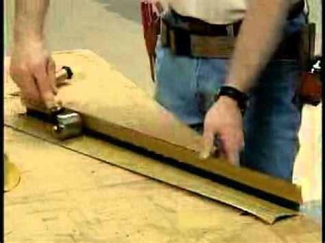 Vinyl Rigid Stair Nosing Installation Video   YouTube